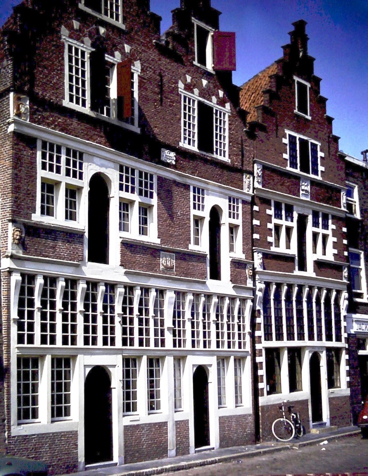 Hoorn 1980 - merchants' houses - EDITED